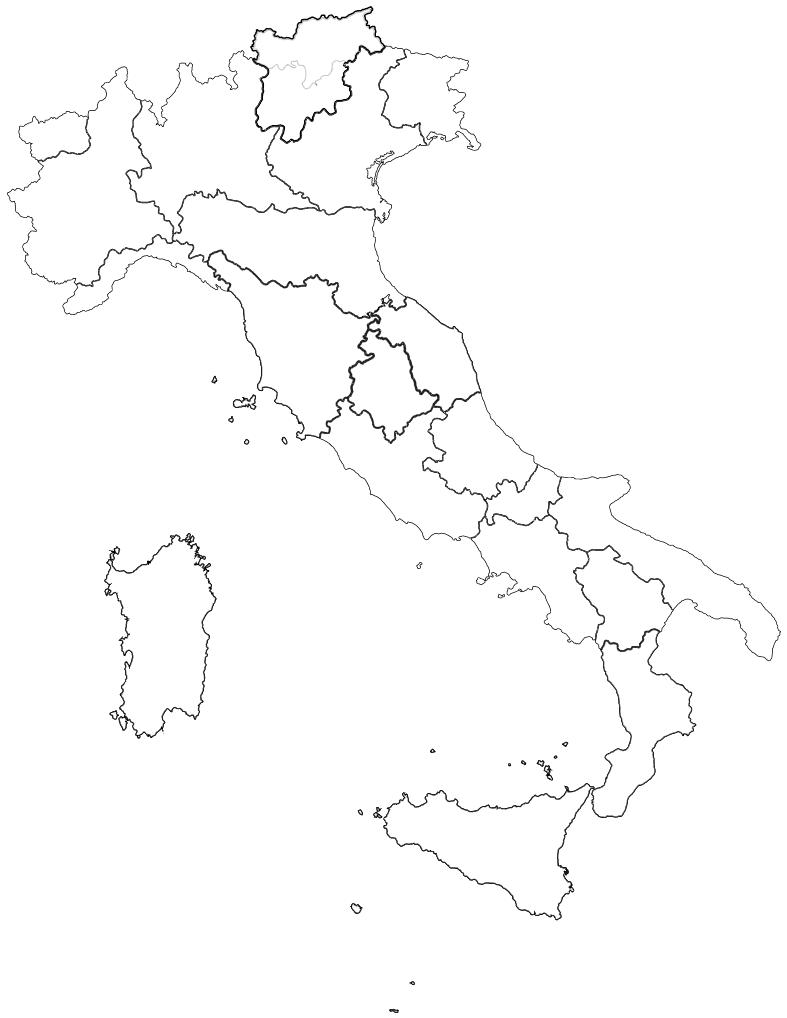 coronavirus italy map